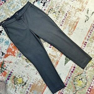 THEORY Cropped Skinny Pants